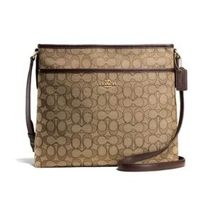 Coach Signature Crossbody Bag